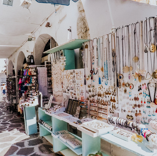 Jewellery Stand, Paros, Greek Islands 2018