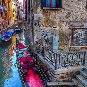 Gondola, Venice, Italy 2018