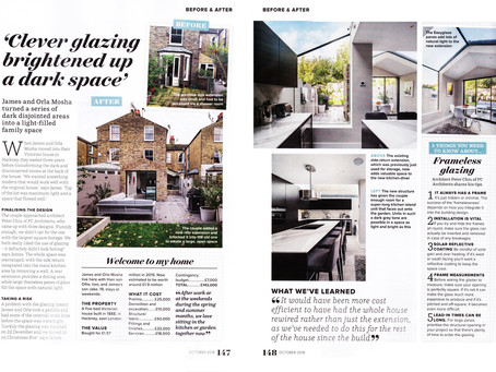 Hackney House featured in Ideal Home