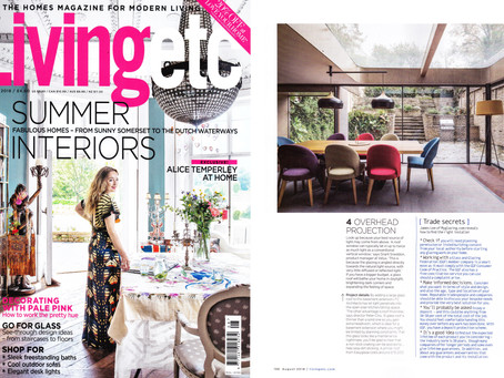 Highbury House featured in Living Etc