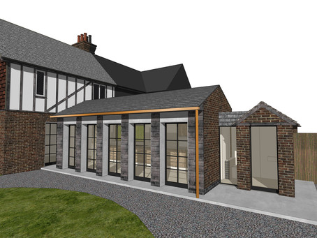 Planning permission received for cottage extension