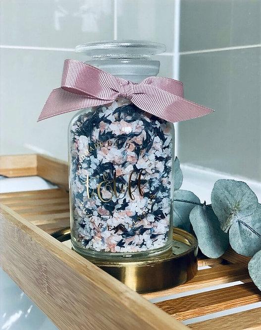 №2 : Yuzu + Eucalyptus Luxury Bath Salts