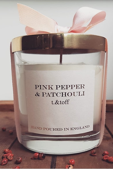 Pink Pepper & Patchouli Candle