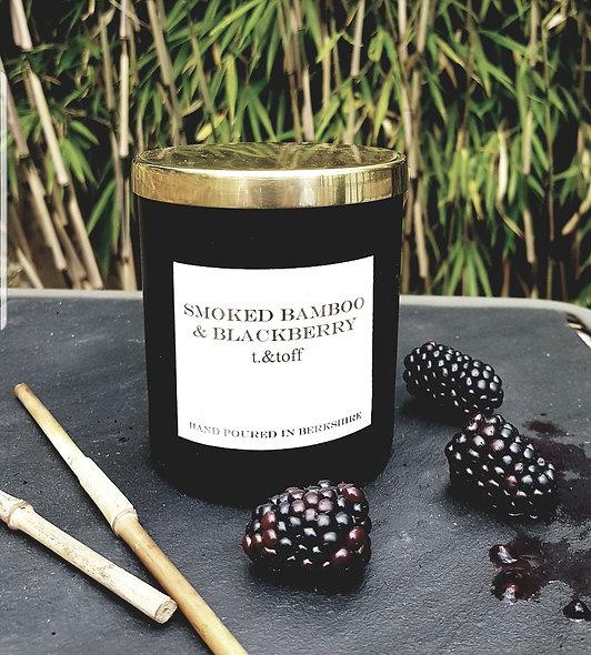 Smoked Bamboo & Blackberry Candle