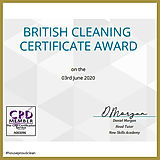 Taplow Cleaning Award