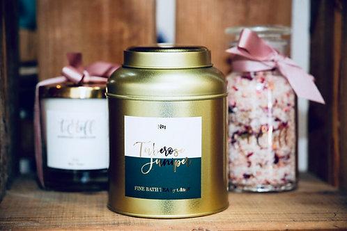 №1 Tuberose + Tonka Bath Tea