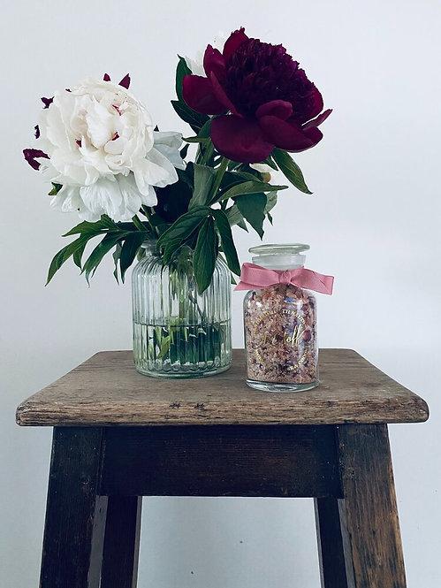 №1: Moroccan Rose + Coconut Luxury Bath Salts