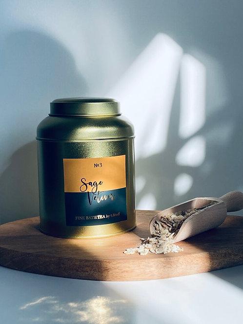 Sage + Vetiver Bath Tea
