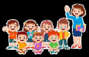 happy-cute-little-kid-boy-girl-teacher-1
