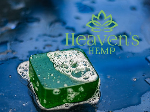 125g approx. Hemp Soap With 500mg Full plant spectrum