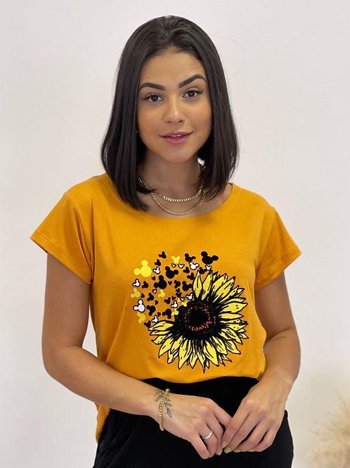 T-shirt Mickey Girassol - 420
