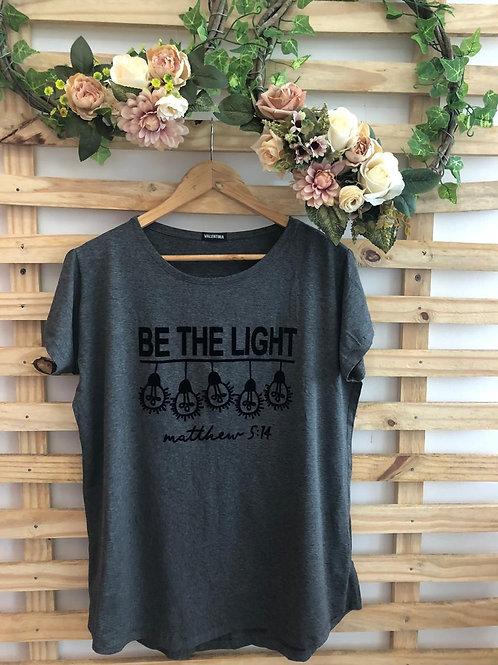 T- Shirt Be The Light - 335