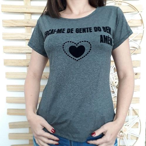 T-shirt Cercai-me de gente do bem - 349