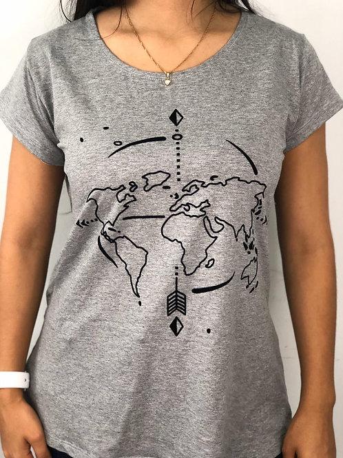 T Shirt Mapa Mundi - 29