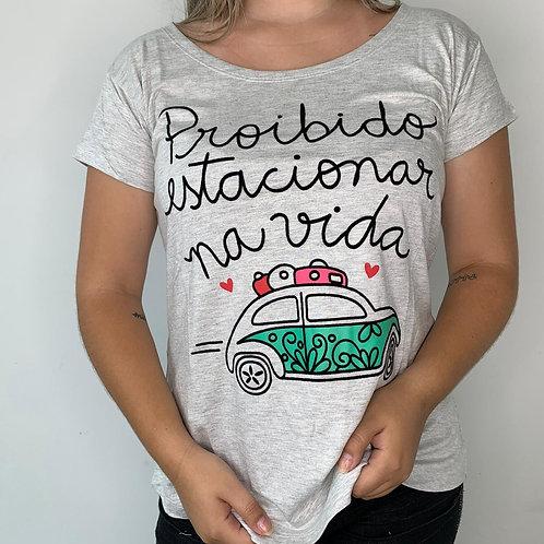 T-Shirt Proibido Estacionar na Vida - 60