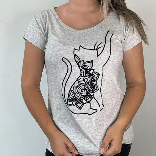 T-Shirt Gato em Pé - 64