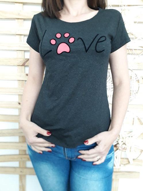 T-shirt Love Pata - 353