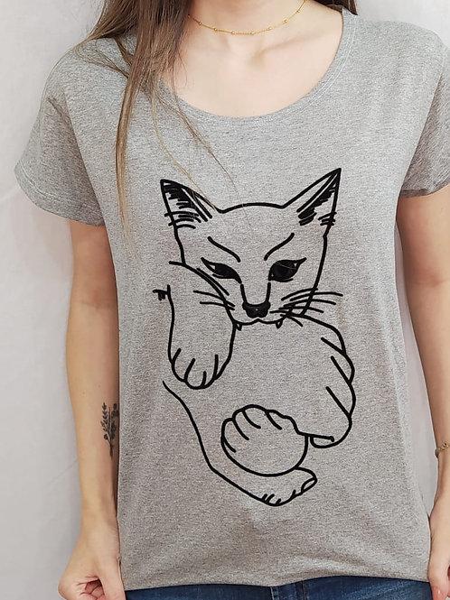 T-shirt gato - 154