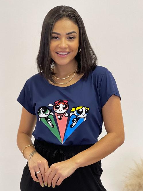 T-shirt Meninas superpoderosas - 416