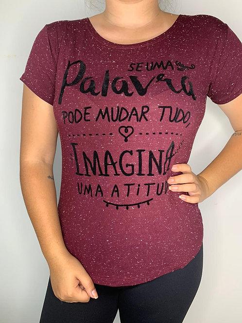 T-Shirt Imagina uma Atitude - 260