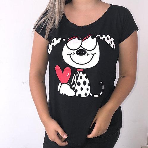 T-shirt Cachorro Pintado - 269