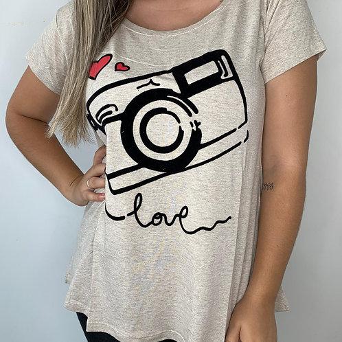 T-Shirt Máquina Love - 87
