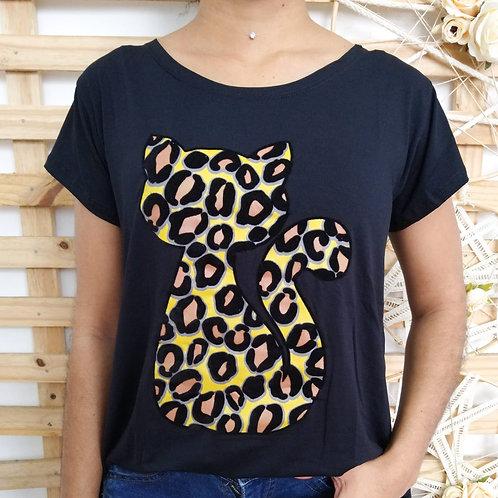 T-shirt Gato onça - 222