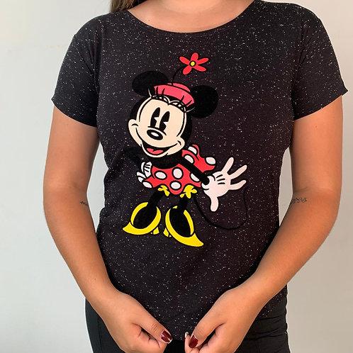 T-Shirt Minnie Chapéu - 236