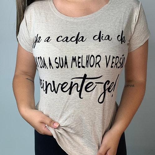 T-Shirt Reinvente-se - 263