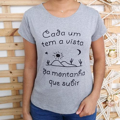 T-shirt Cada um tem a vista - 362