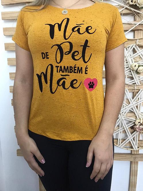 T- shirt Mãe de pet - 355