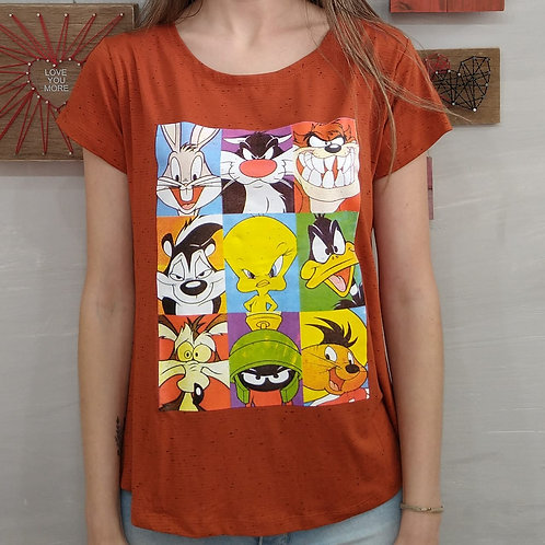 T-shirt Looney Tunes Cromia - 370