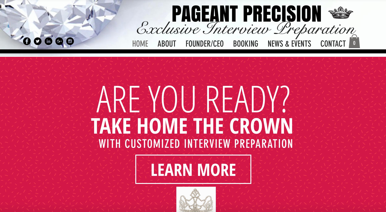 pageant precision in person interview preparation