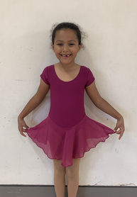 Our new primary ballet uniform