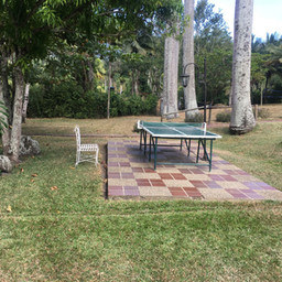 Mesa de ping pong al aire libre