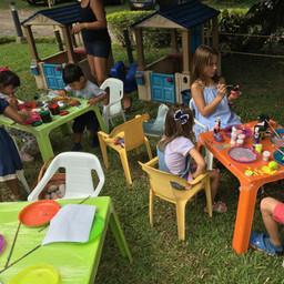 Actividad recreativa para niños
