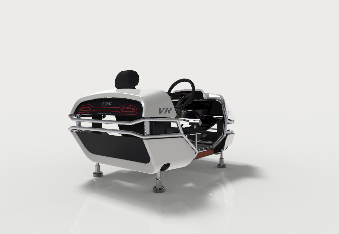 VR 드라이빙 시뮬레이터 제품디자인