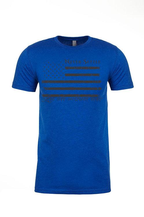 LLWF Blue/Black Flag Shirt