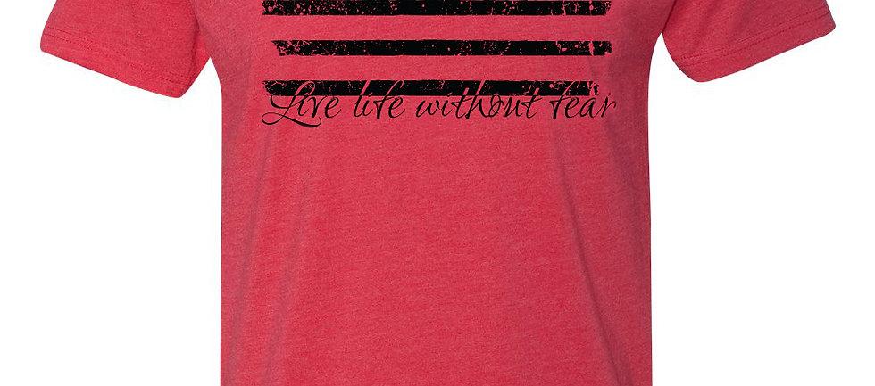 LLWF Red/Black Flag Shirt