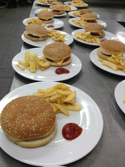 menu enfant hamburger