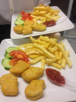 menu enfant nugget