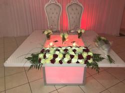 table d'honneur plexi 2 pers