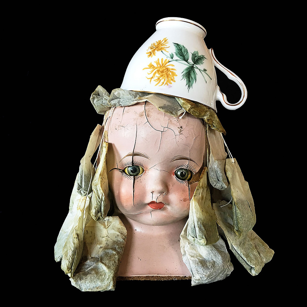 Bessie with Tea Cup Hat