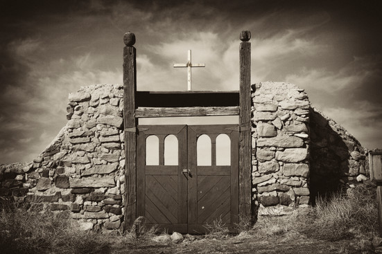 Cemetary in Galisteo, New Mexico