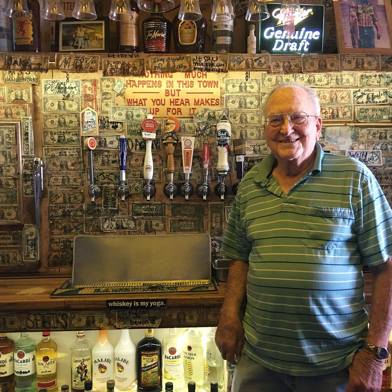 Wendell, owner of The Ski Inn