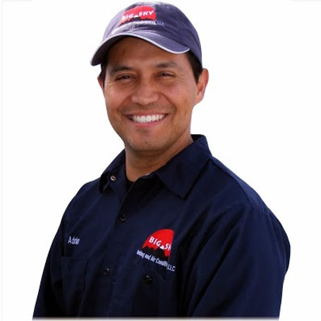 Big Sky Heating owner, Adrian Rodriguez