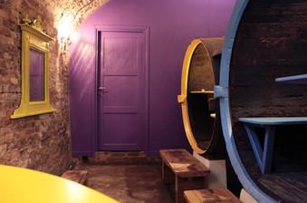 La porta viola - Corte dell'Uva