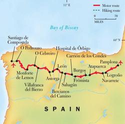 El Camino Trail Map