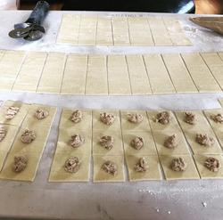 Making Enchilada Tortellini