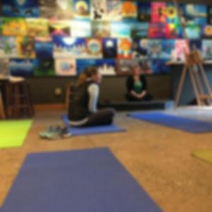 Good Elephant | yoga class and painting on Tuesdays